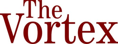 The Vortex Text Logo